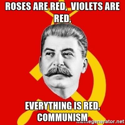 Báseň pro voliče komunistů
