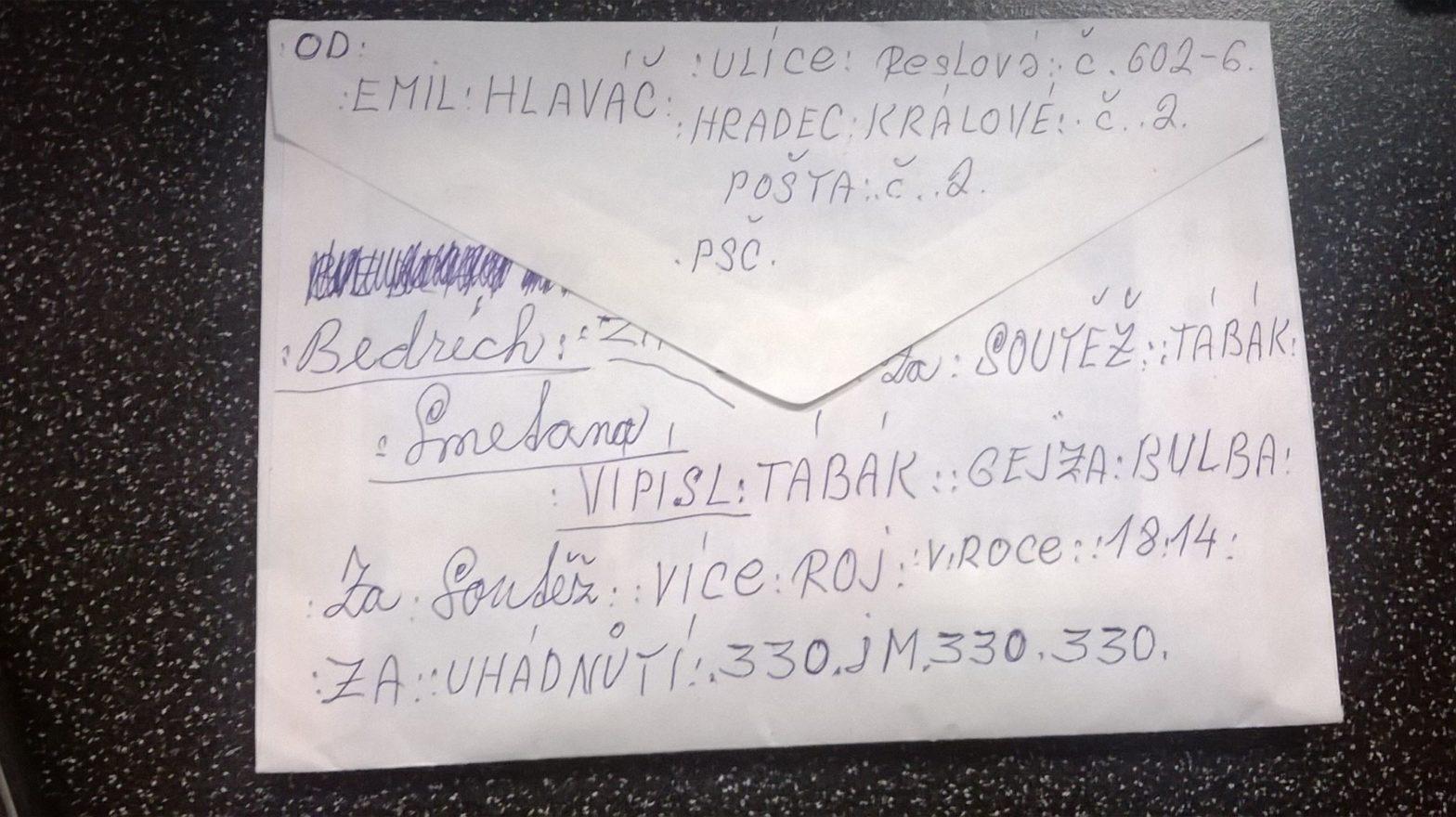 Věrný dopisovatel Emil