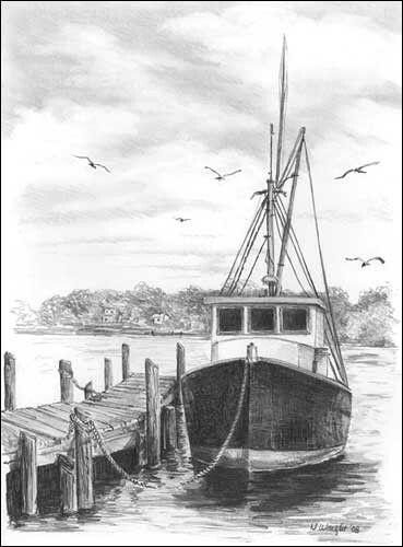 Upoutaná loď