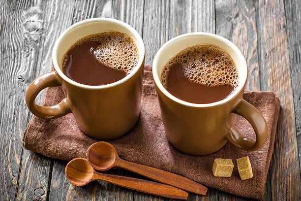 Dva hrnky kakaa