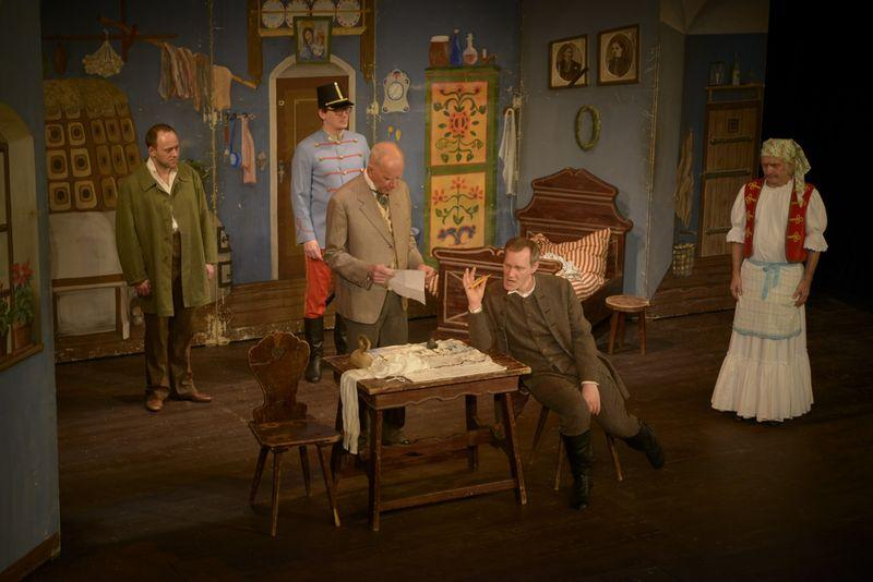 Cimrman English Theatre: The Stand In (Záskok)