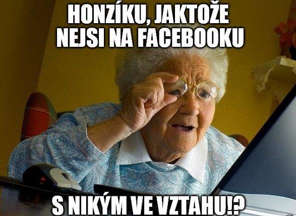 Babička se ptá