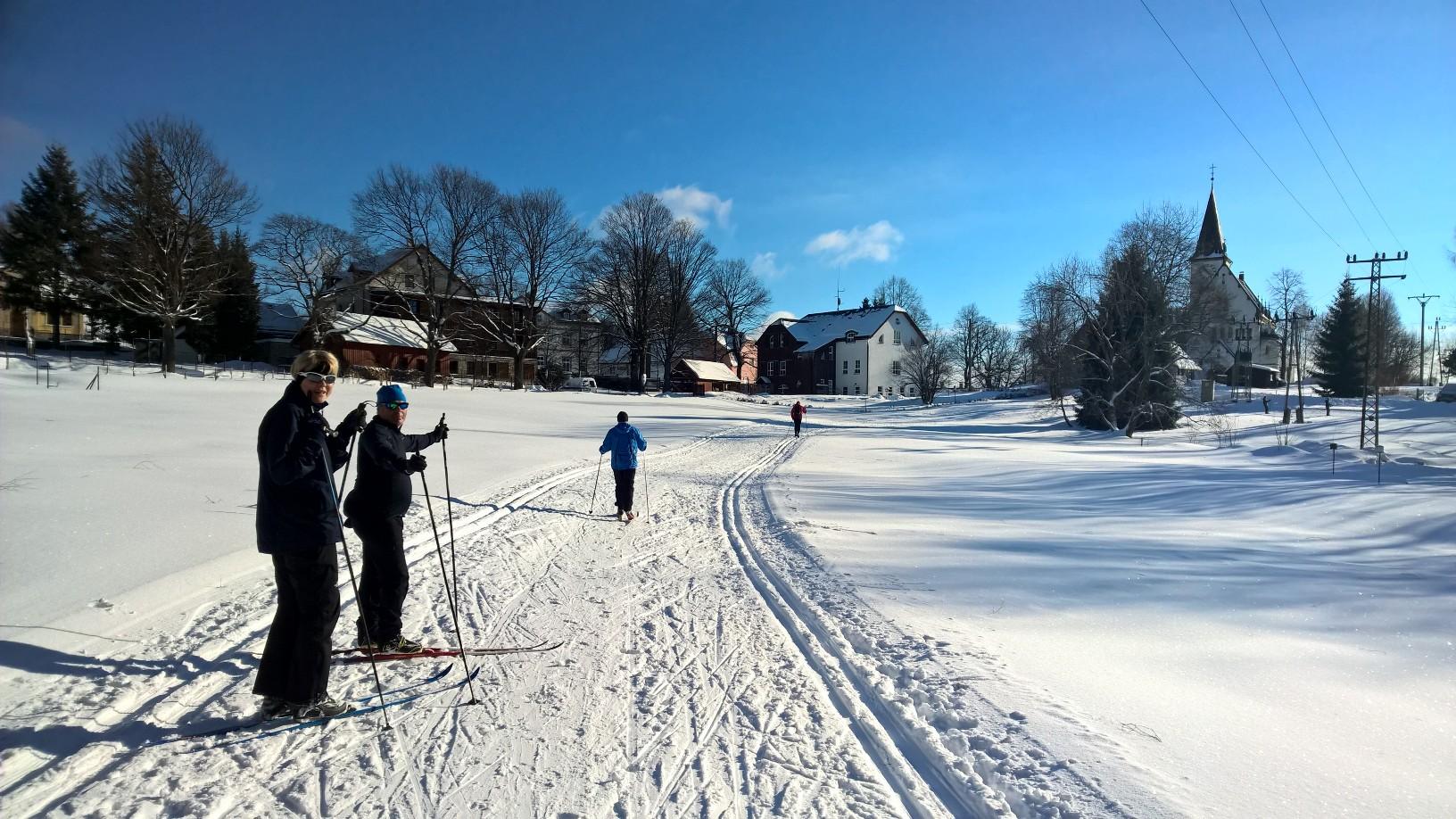 Lednové běžky na Jizerkách 2018