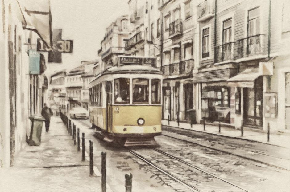 Děvčátka z tramvaje