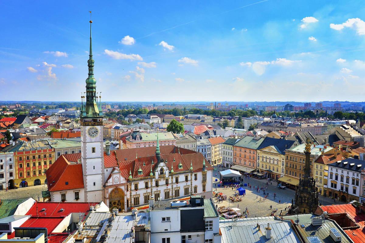 Moje cesta do Olomouce