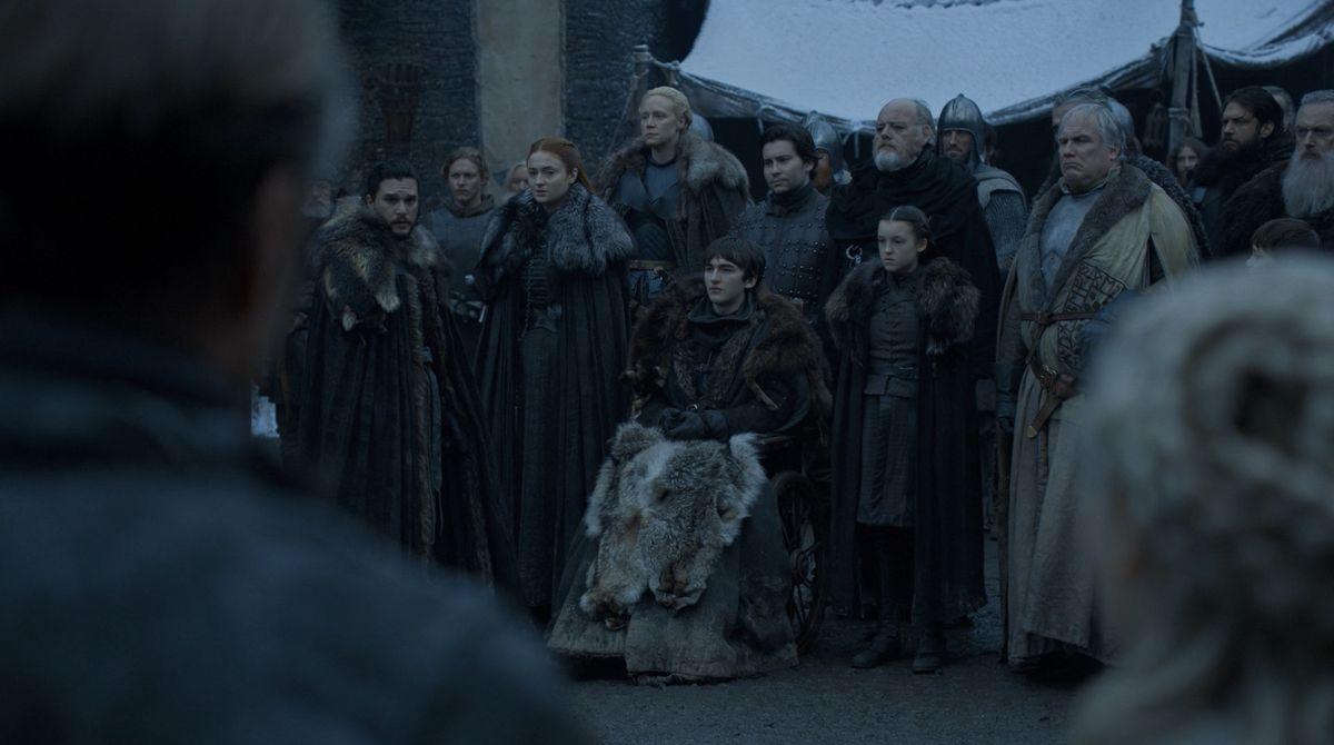 Game of Thrones s08 e01: Sansa jede bomby!