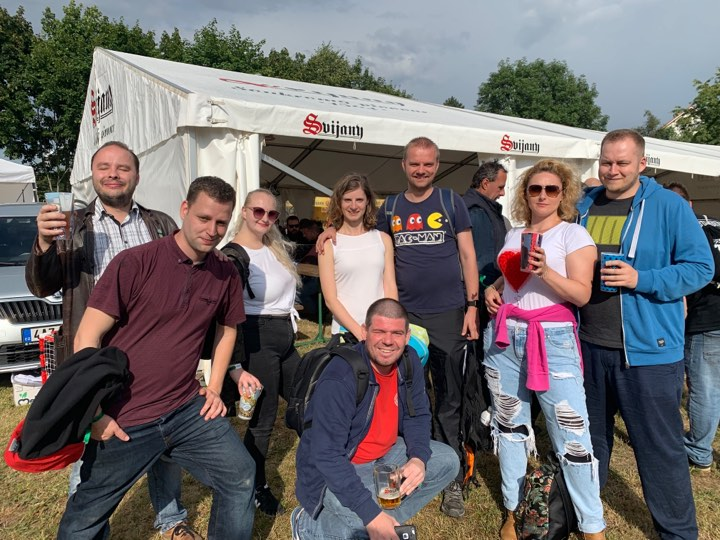 Zážitkový týden se slovenskými přáteli korunovaný 30. Slavnostmi svijanského piva