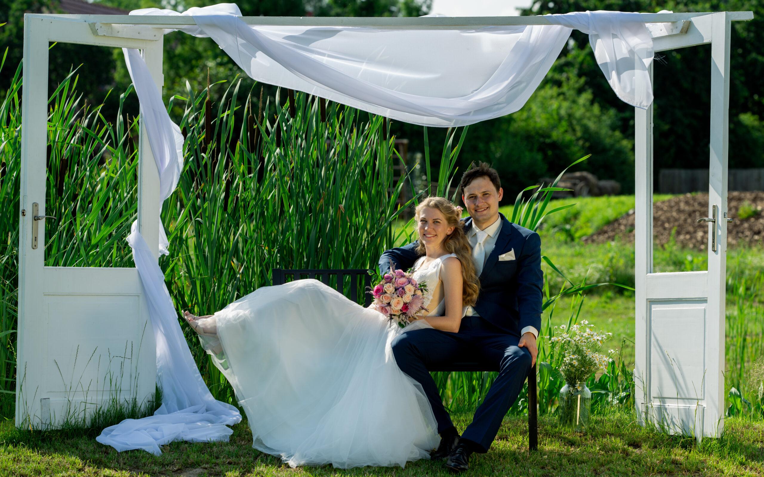 Reportáž ze svatebního dne Alice a Adama
